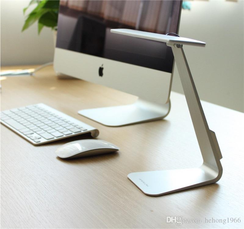 Mode USB Lampe de Bureau Ultrathin LED Lampes De Table Originalité Minimaliste Eyeshield Lampe De Lecture Pour Bureau Étude de Haute Qualité 52xx X