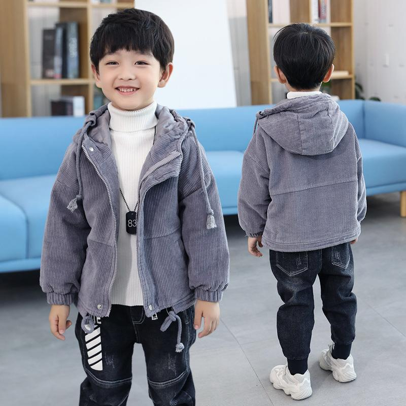 2f360c97871f Kids Boys Thicken Winter Coat Size 7 8 9 10 11 12 Years Long Sleeve ...