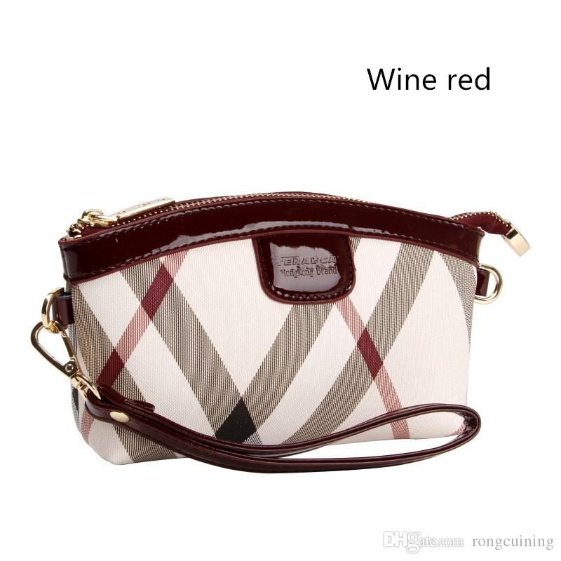 Promotion Women Clutch Bags Fashion Vitality Wear Resistant Anti Dirty PVC  Paint Soft Zipper Clutch Bag Dumplings Package Expensive Handbags Purses  For ... bf0144304c