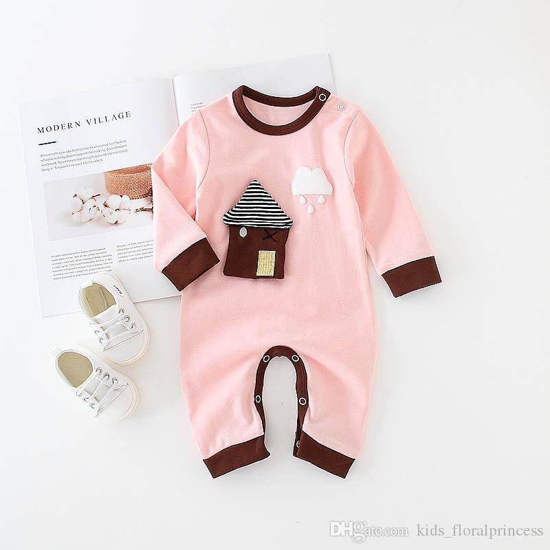 2018 New Baby Rompers Newborn Infant Baby Boy Girl Summer Clothes ...