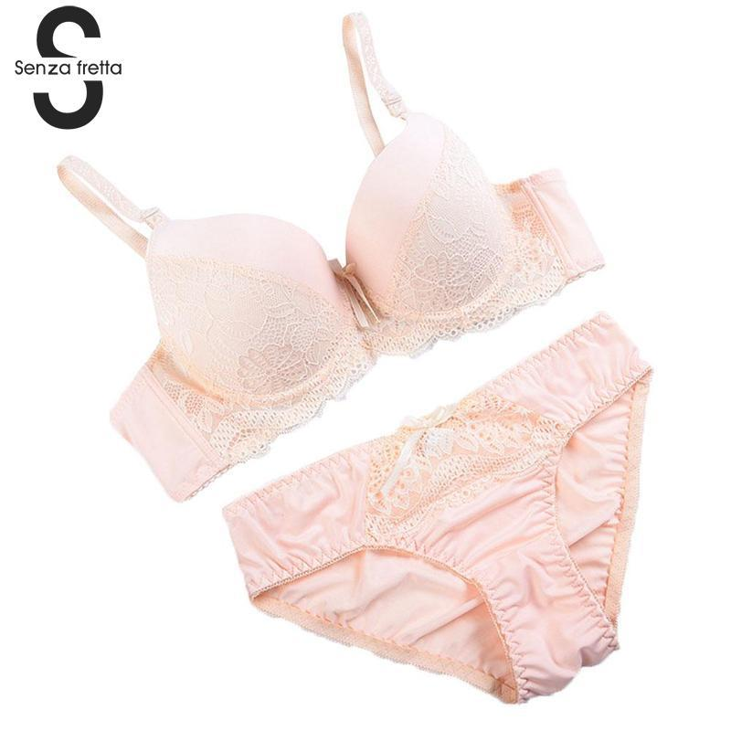b4b1a230a623 2019 Women Sexy Lace Bra Sets Embroidered Lace Bra And Panties Set Push Up  Underwear Women Sexy And Thong Lingerie Set NYB4288 From Paluo, $35.03 |  DHgate.