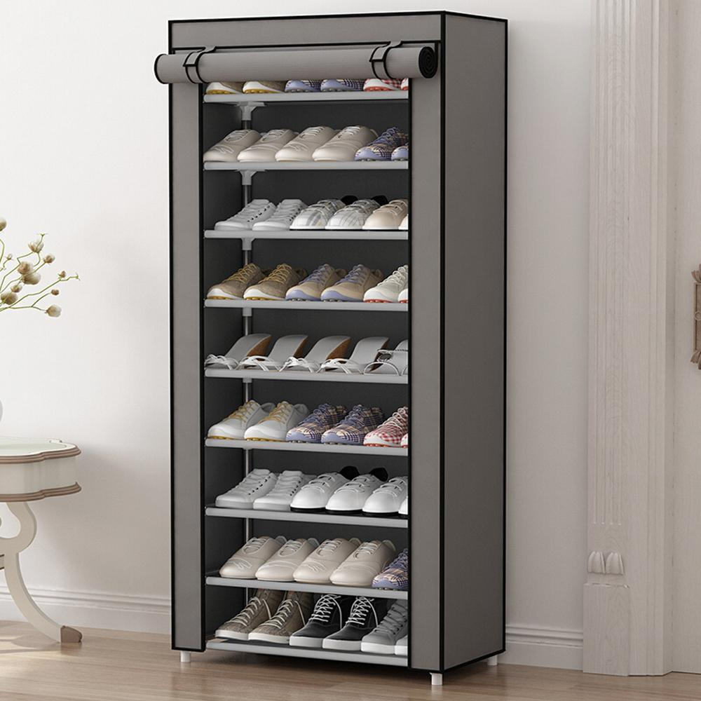 2019 Hhaini Multi Function Simple Dustproof Shoe Rack Non