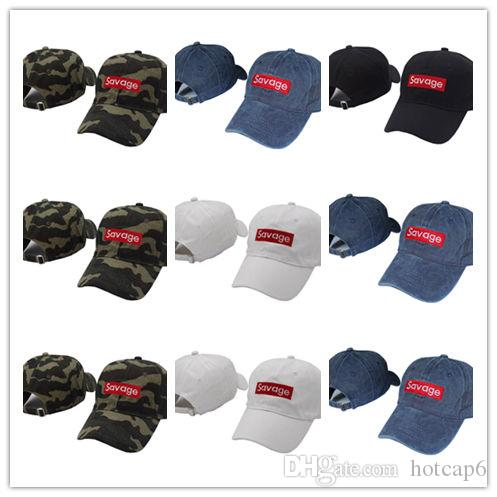 Cheap Wholesale New Savage Baseball Cap Embroidery Men Dad Hat Cotton Bone  Women Snapback Caps Hip Hop Sun Fashion Caps 47 Brand Hats Vintage Baseball  Caps ... 014b0c08d730
