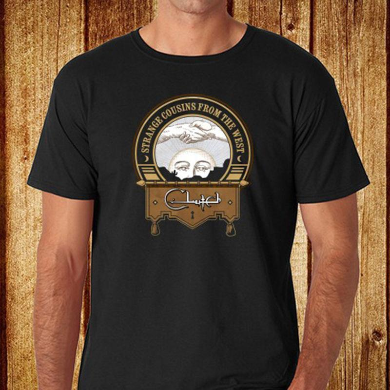 54a89d779 New Clutch *Strange Cousin American Rock Band Men'S Black T Shirt Size S 3XL  Now T Shirts Deal With It T Shirt From Lijian11, $12.08| DHgate.Com