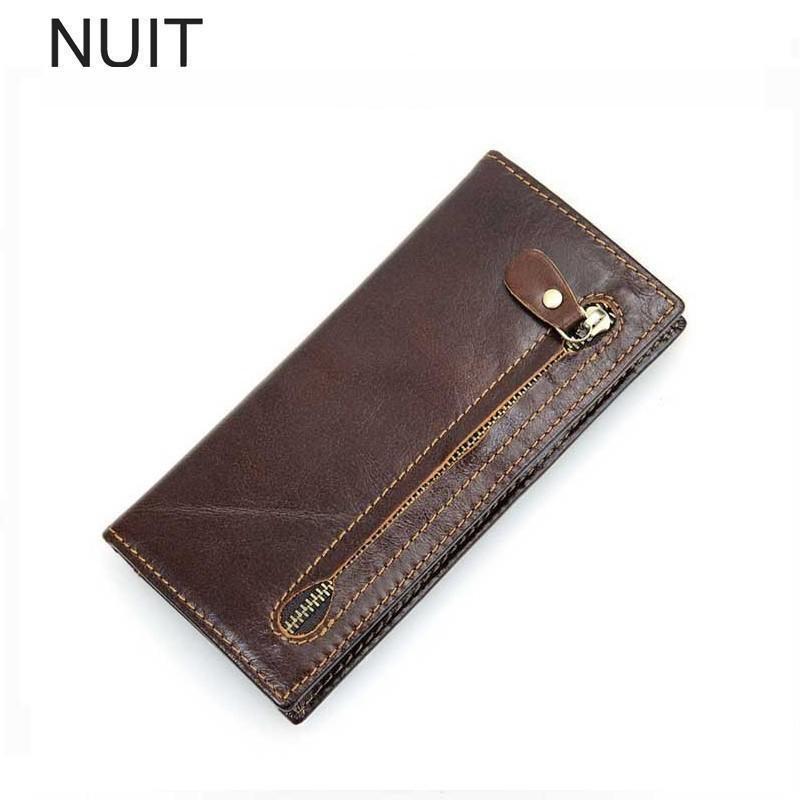wholesale dealer 90421 ce391 Men Wallets Man Luxury Phone Wallet Brand Famous Mens Leather Genuine Long  Wallet Clutch Male Money Purse ID Card Holder