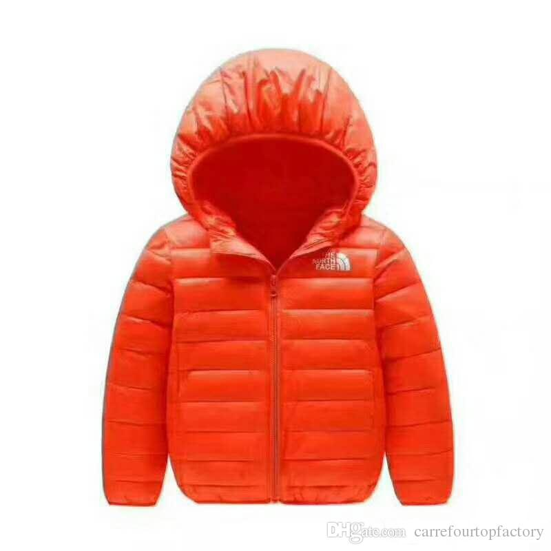 6ad804337c6e Brand NF Baby Winter Jackets Light Kids White Duck Down Coat Baby ...
