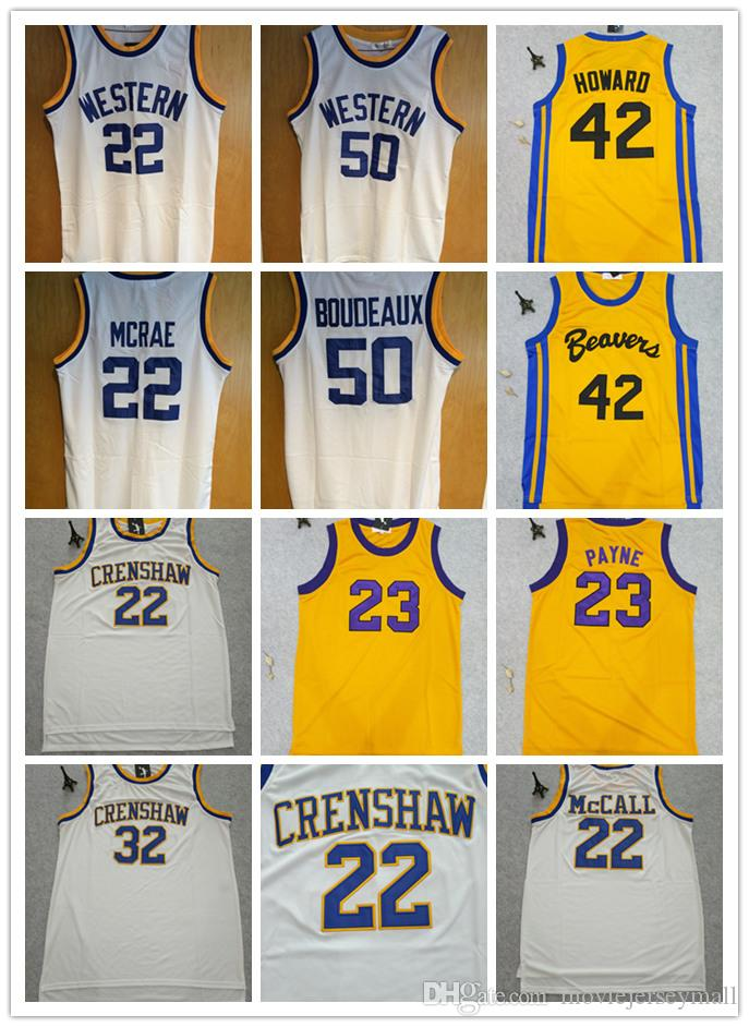 d7d94f1ee37a 2019 WILL SMITH Movie Monica Wright Love And Basketball Jersey Scott Howard  Martin Payne BUTCH MCRAE Quincy McCall Banks Boudeaux Knight From ...