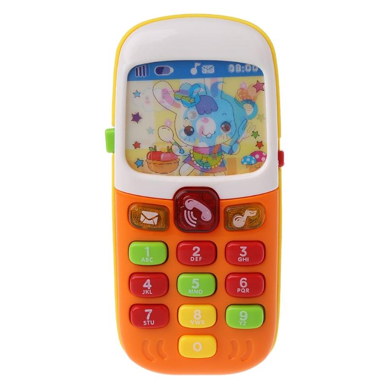 Baby Mobile Phone Educational Learning Toys Electronic Toy Phone