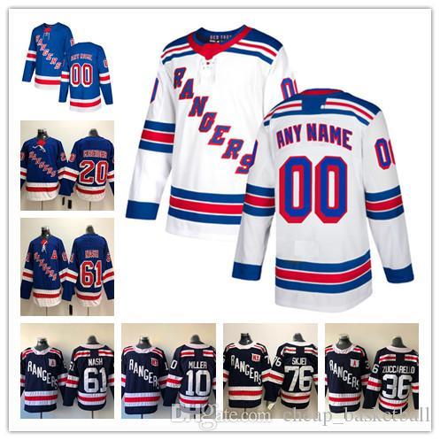 Custom New York Rangers ANY NAME  NO JERSEYS Men Women Kids 61 Rick ... 773e9f1b7