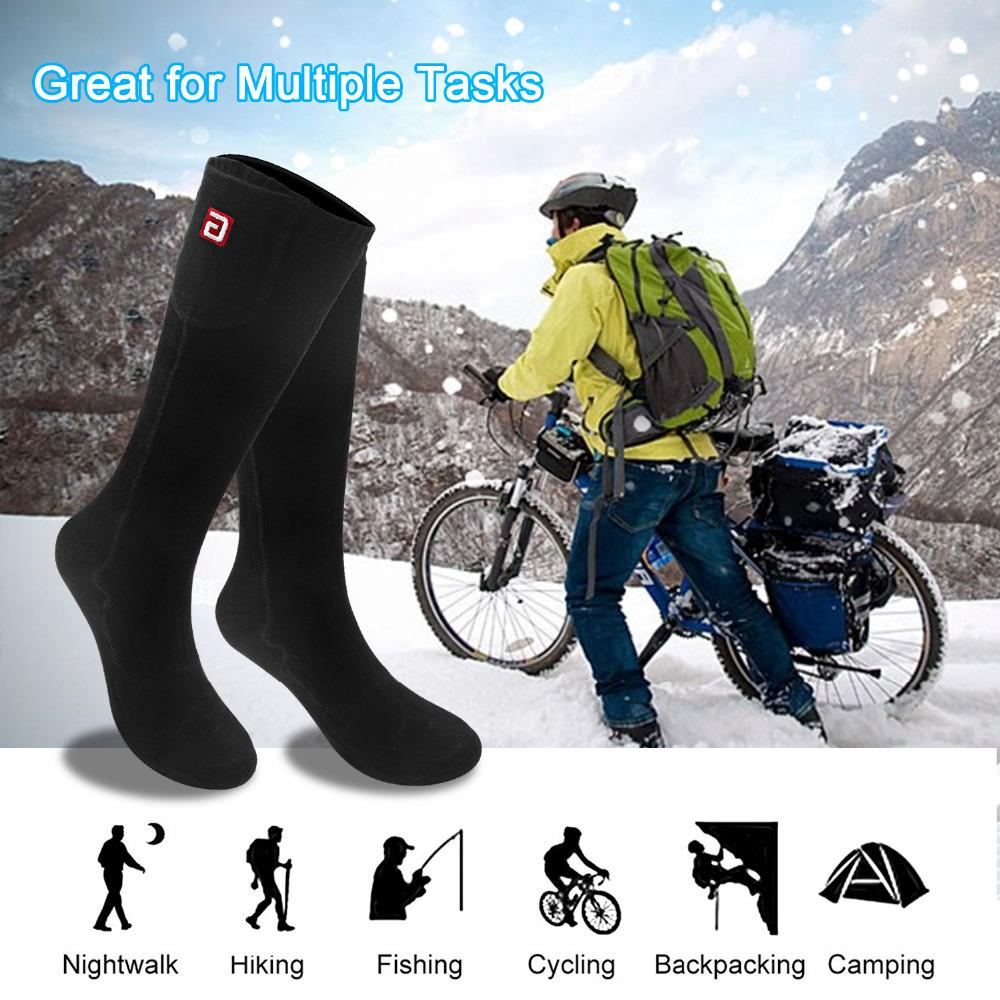 55caf9fd69 2019 2.4V Thermal Cotton Heated Socks Men Women Battery Case Battery  Operated Winter Foot Warmer Electric Socks Warming From Cactuse, $42.7 |  DHgate.Com