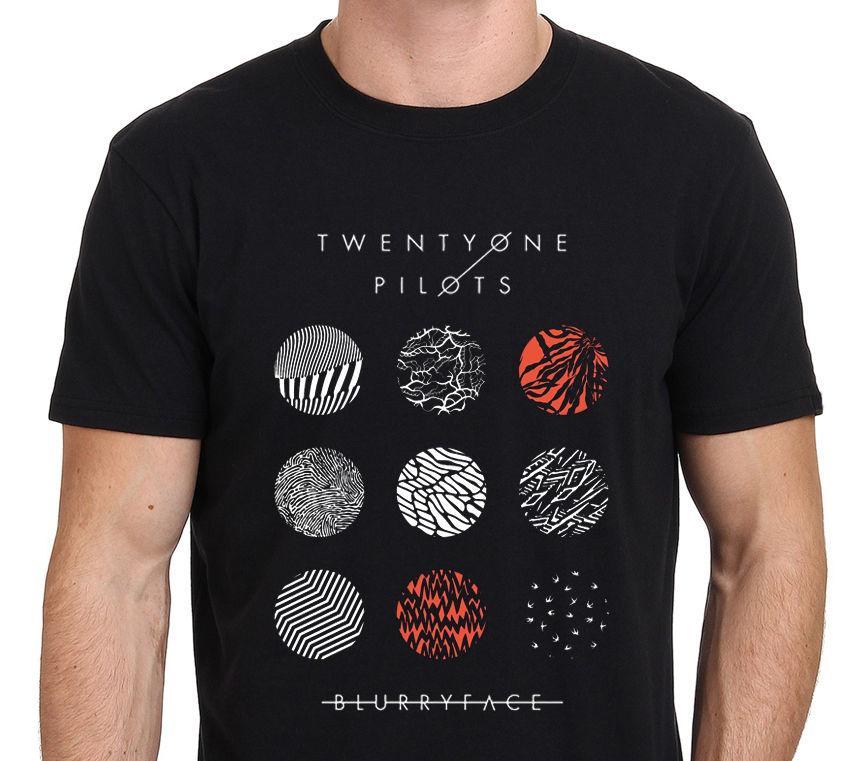 Grosshandel 21 Pilots Shirt Twenty Ein Piloten Blurryface Manner T