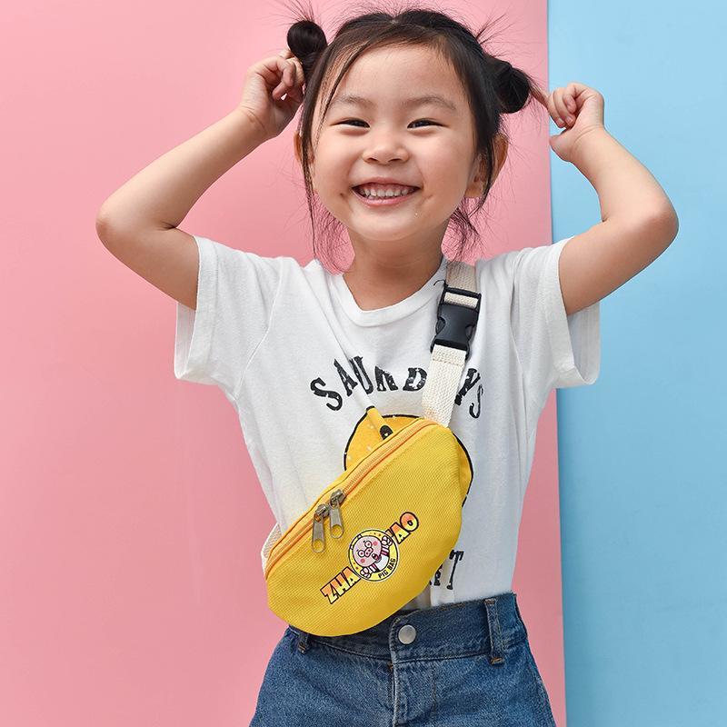 Crossbody-taschen 2018 Sommer Neue Kinder Taille Pack Mode Designer Nette Brust Taschen Für Kinder Mädchen Schöne Schwein Druck Mini Taille Tasche