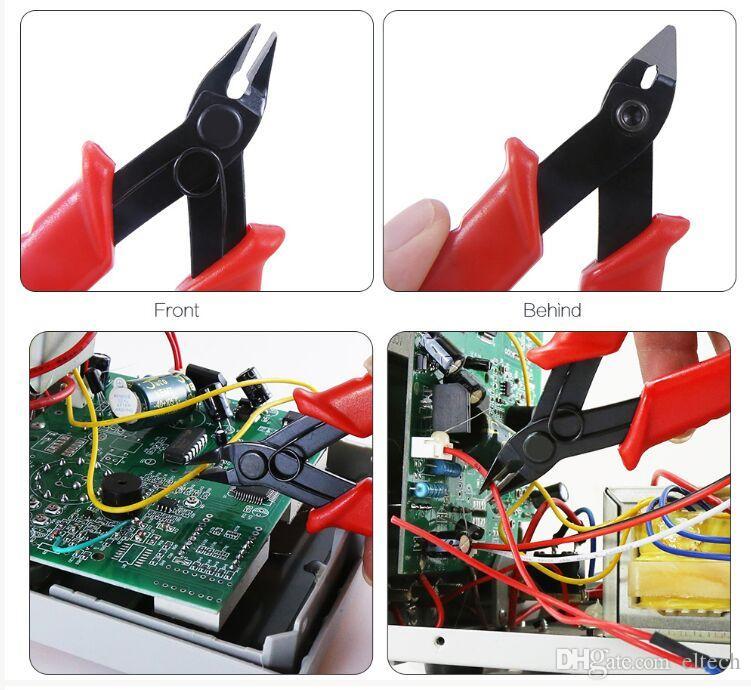 الثقيلة سلك كابل كهربائي قطع القاطع كماشة قطري صغير للكهربائي