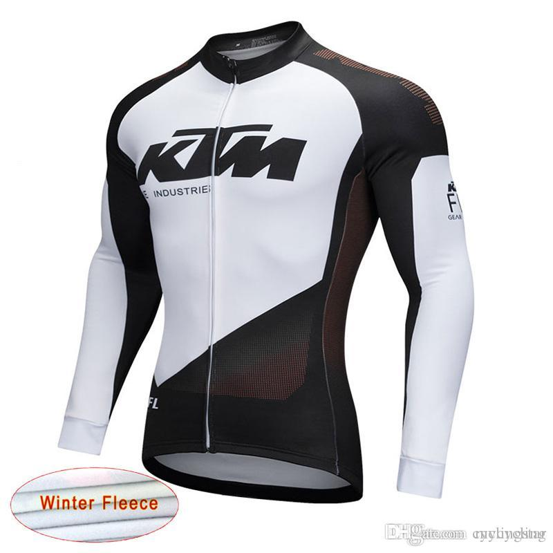 Rope Ciclismo 2018 NEW KTM Cycling Long Sleeve Jersey Racing Bicycle Shirt  Maillot Mens Outdoors MTB Riding Bike Clothes Sportswear F2334 Clothing For  Men ... 8c6a92add
