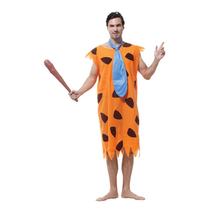 Superb Umorden Purim Carnival Party Halloween Costumes Adult Man Primitive Savages Costume  Men Fancy Flintstones Cosplay Baby Halloween Costumes Funny Halloween ...