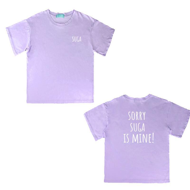 2994bf6219f67 Acheter Kpop BTS Bangtan Garçons Album Chemises Casual Loose Clothes  Couleur Pourpre T Shirt T Shirt À Manches Courtes T Shirt DX686 De  24.85  Du Dalivid ...