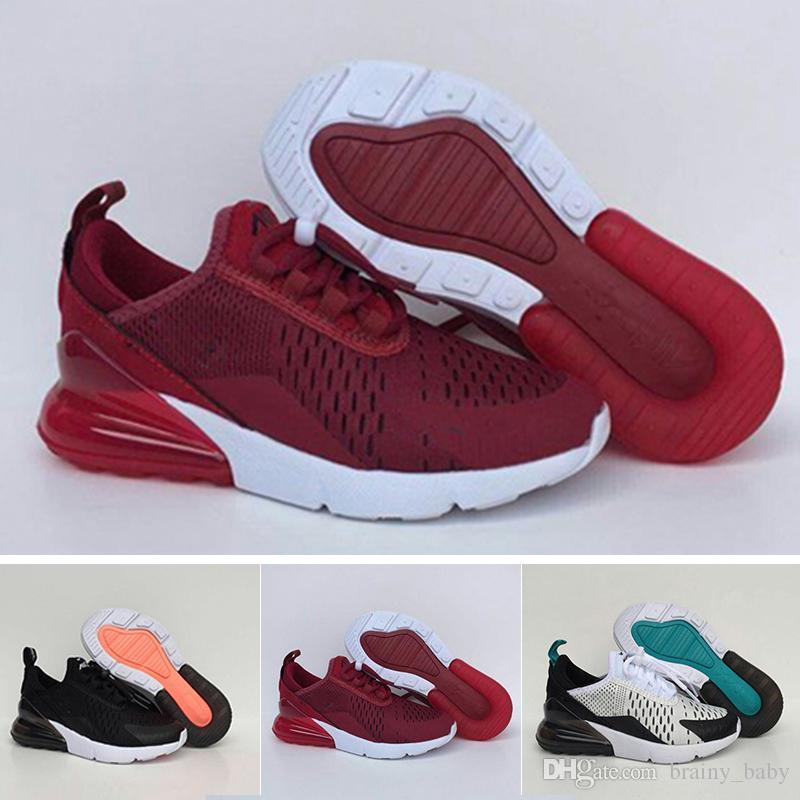 best sneakers 08df1 e60a4 Acheter Nouveaux Enfants 270 Chaussures Enfants Pour Les Enfants Bébé  Garçons Filles 27C Coussin Noir Blanc Orange Vert Rose Chaussures Eur28 35  De  66.89 ...