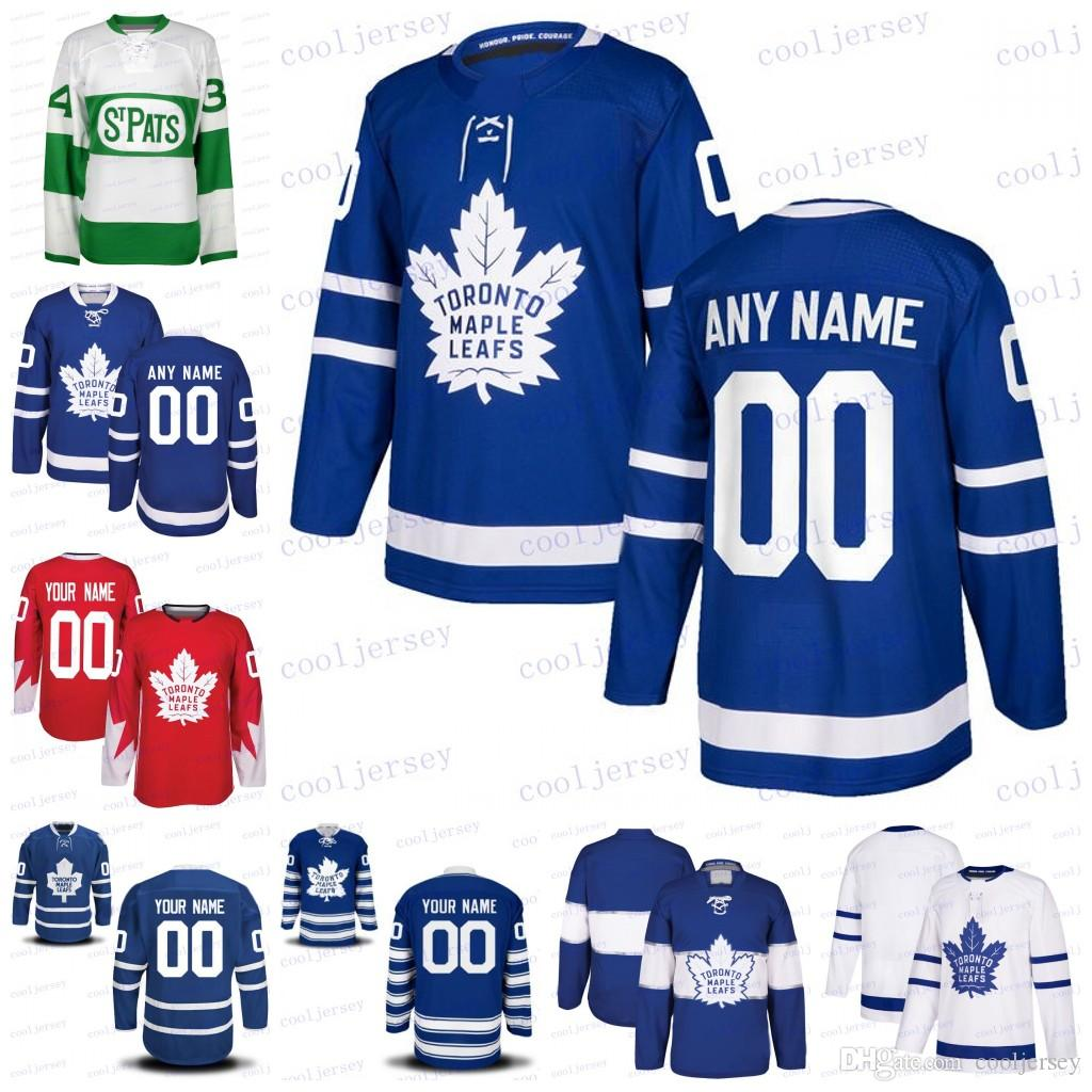 2019 Custom Toronto Maple Leafs Hockey Any Name Number White Royal Blue ST. Pats 2017 Centennial Third Jerseys Stitched Mens Women Youth From  Cooljersey 050c79425