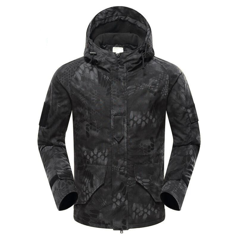 Winter Camouflage Tactical Jacket Outdoor Sports Warm Coat Hunting Hiking Camping Climbing Quick Dry Waterproof Windproof Coats