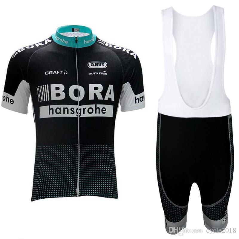 2017 Tour De France BORA Team Cycling Jersey Set Bicycle Summer Sports Shirt  Cycling Clothing Men Short Sleeve MTB Bike Ropa Ciclismo Cycle Clothing ... 1c665a997
