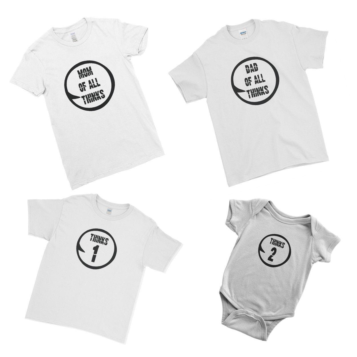 6a98f14a7 Family Of All Thinks Baby Dad Mom Family Matching Couple Team T Shirt T  Shirt Cool Casual Pride T Shirt Men Unisex New Fashion Cheap T Shirts For  Sale ...