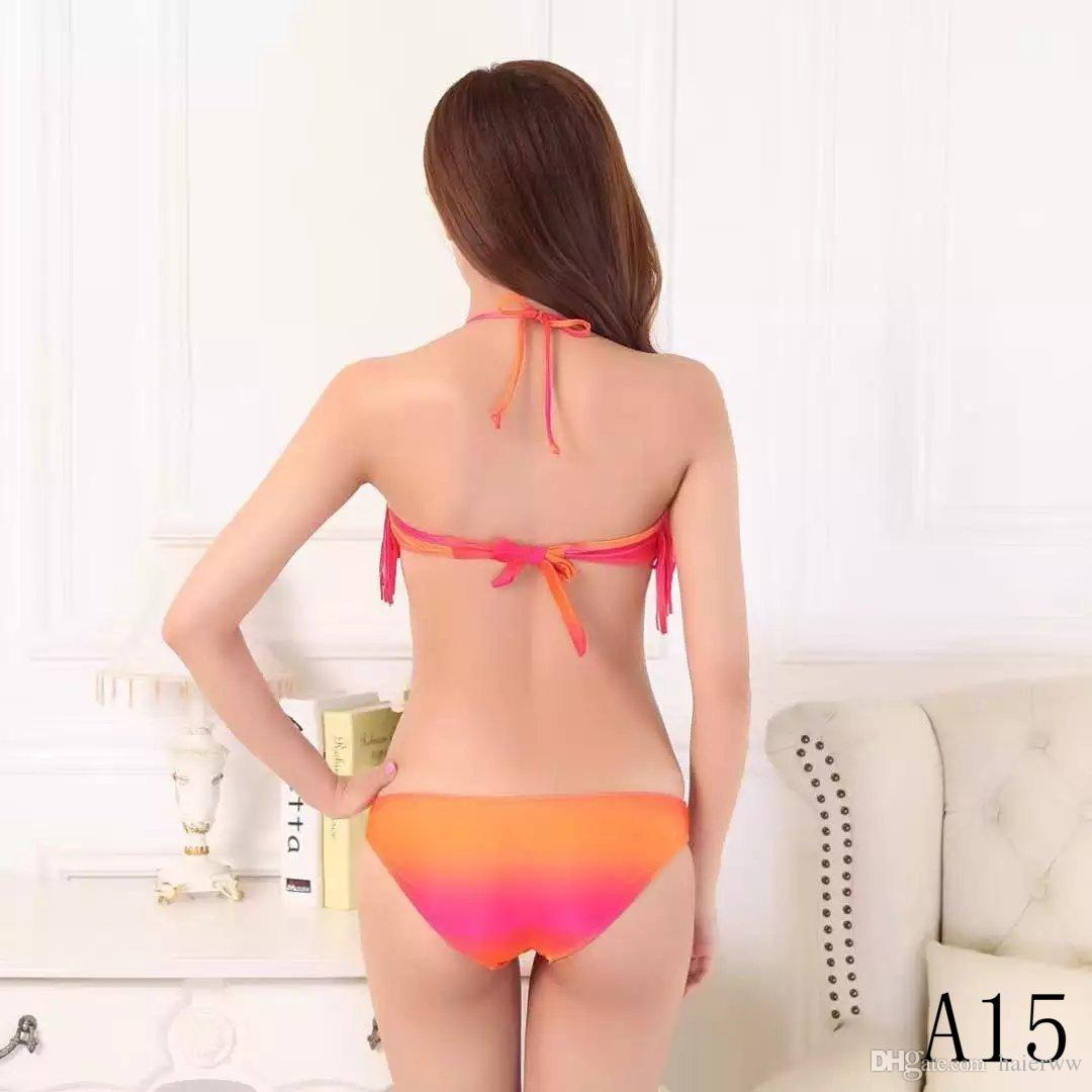 2018 fashion new split sexy bikini top swimsuit swimsuit low waist women's beach wear swim suit suit bikini 05