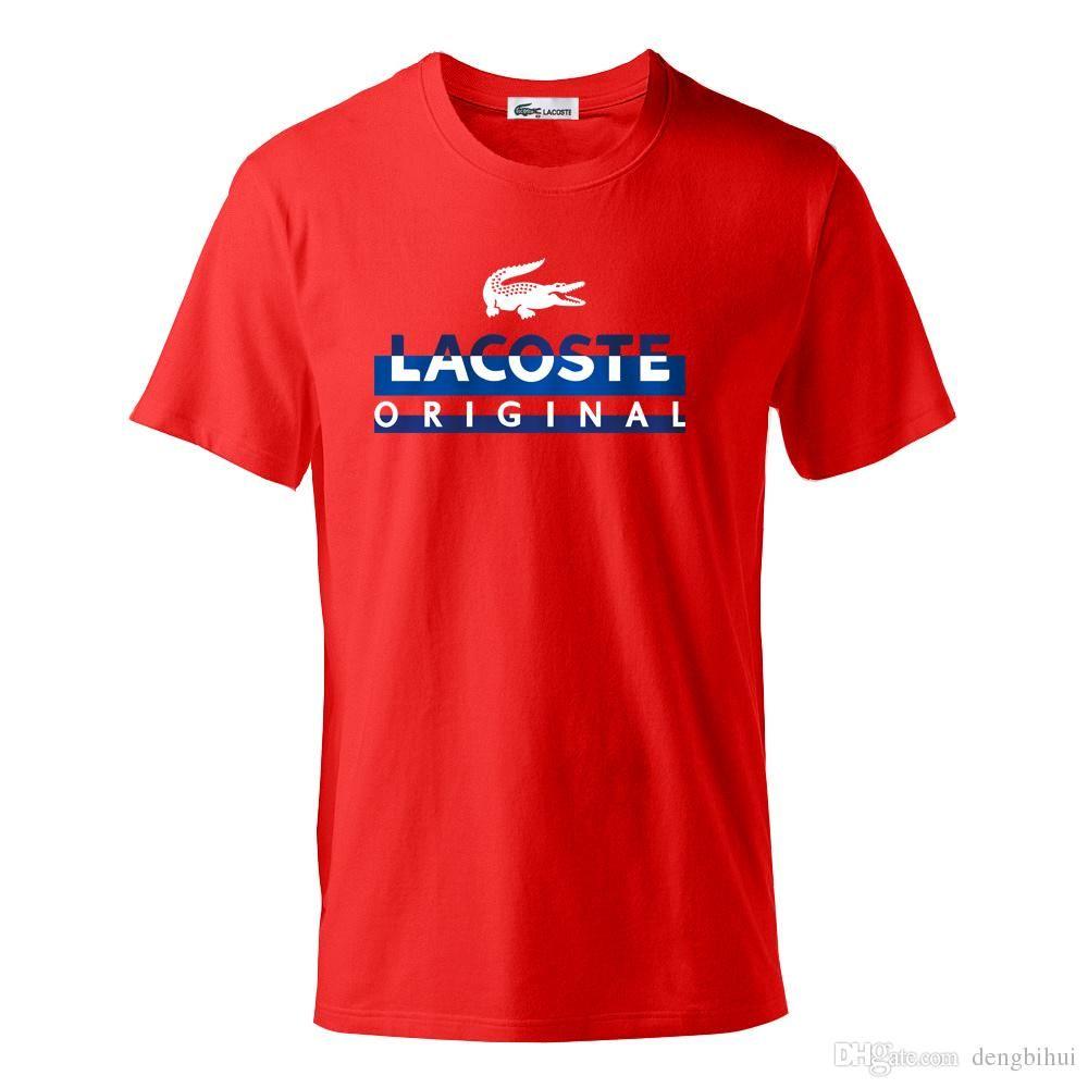 f104fad61a Acheter 7 Couleur 2018 Nouvelle Marque Concepteur Masculin Modèle T Shirt  Goût De Mode Estivale M 3xl Fabriqué En Chine Livraison Gratuite De $10.15  Du ...