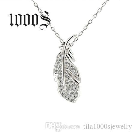 2018 woman fashion 925 sterling silver jewellery pendant necklaces see larger image mozeypictures Image collections