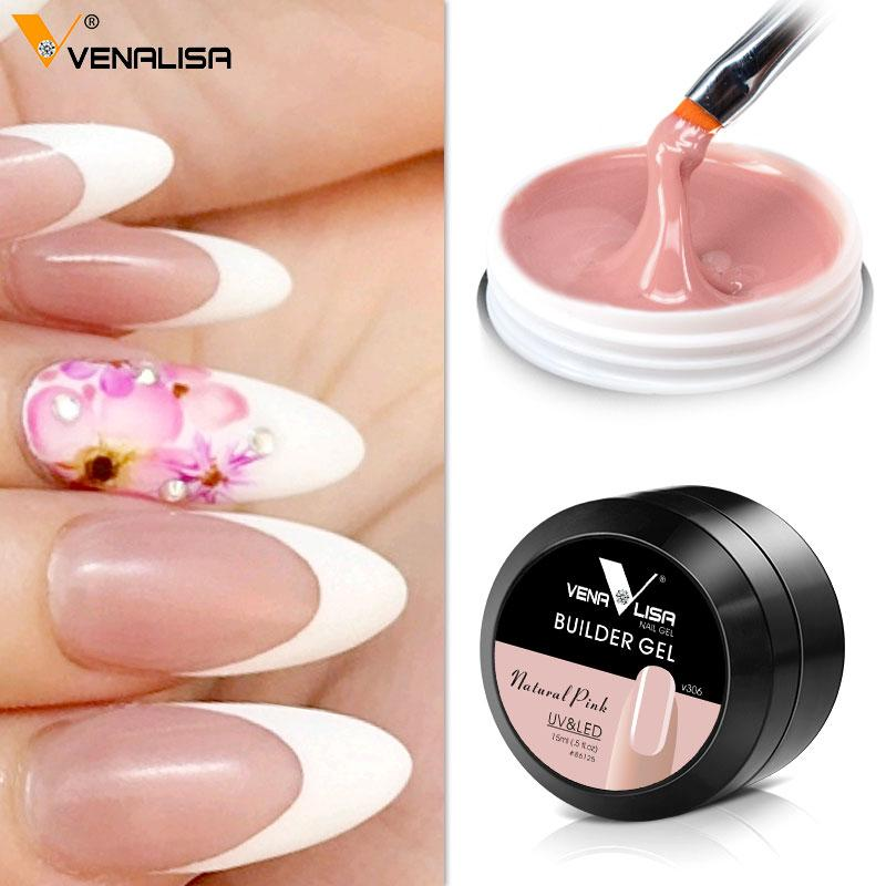 New Uv Builder Camouflage Jelly Uv Gel, Nails Extend Gel,Natural ...