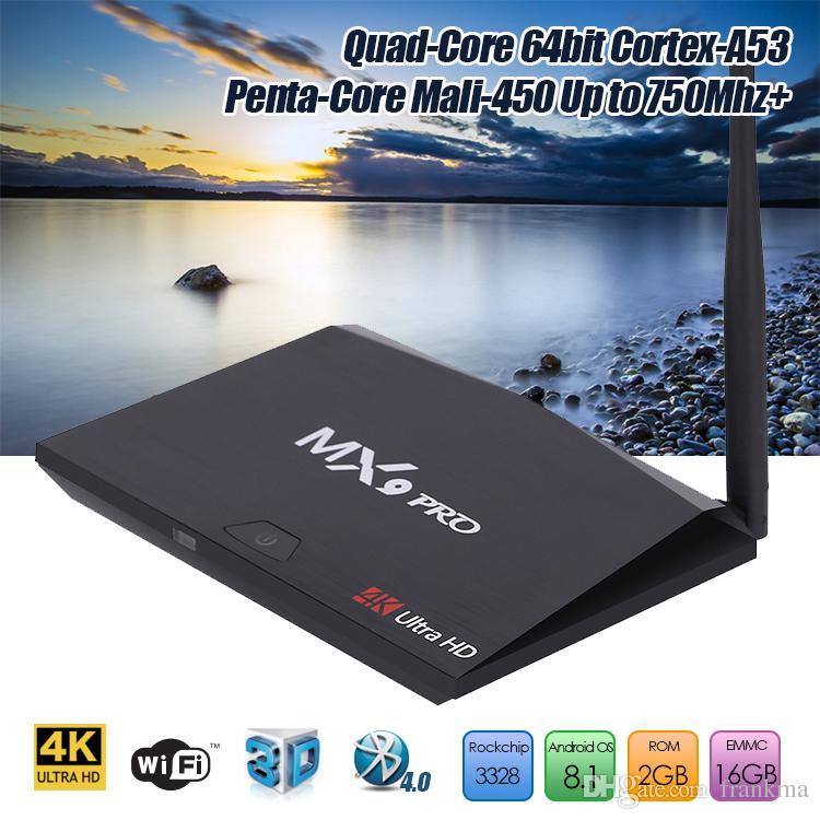 Smart tv box mx9 4k android 7 1 | MXQ Pro 4K 2017 Internet
