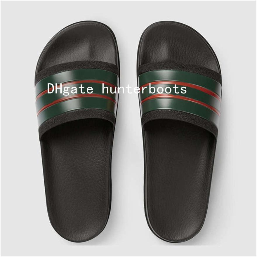 1de6e651b 2018 New Men Slides Summer Luxury Designer Beach Indoor Flat G Shoes Brand Mens  Sandals Slippers House Flip Flops With Spike Sandal Footwear Ladies Shoes  ...