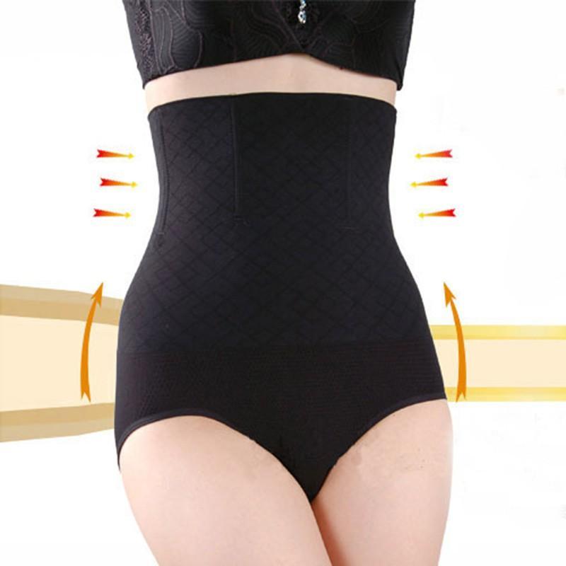 a9dbb337044 2019 Seamless Women High Waist Slimming Tummy Control Knickers Pants Pantie  Briefs Shapewear Magic Body Shaper Lady Underwear From Pileilang