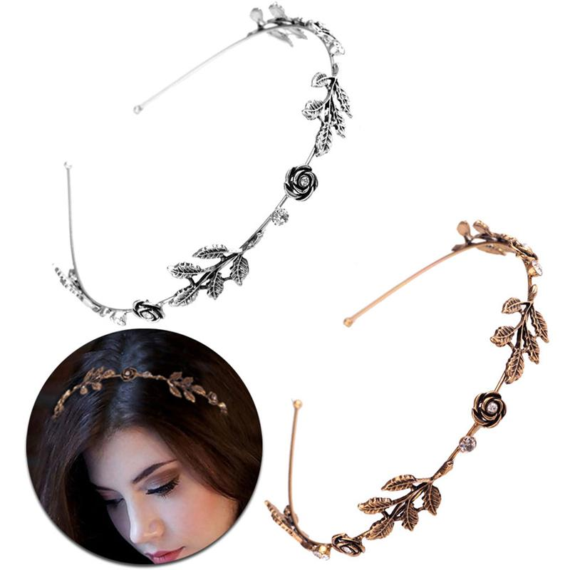 Luxury Hair Jewelry For Women Delicate Crystal Rhinestone Headbands Handmade Bride Hair Band Romantic Wedding Hair Accessories