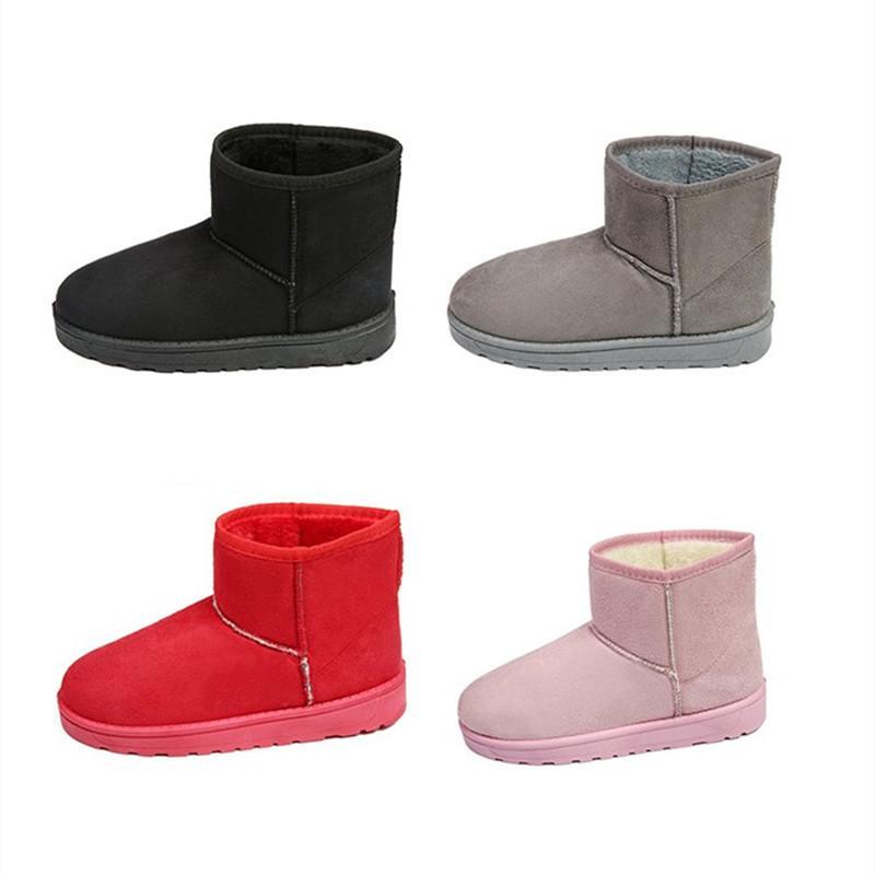 17ef21df6 Compre 2019 Shuangxi.Jsd 2018 Invierno Mujer Botines Moda Botas De Nieve  Tallas Grandes Botines Planos De Alta Calidad Mantener Cálidos Zapatos De  Algodón ...