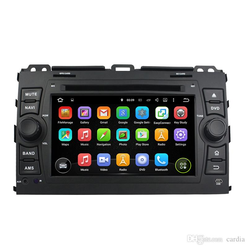 7inch 2GB RAM Andriod 6.0 Car DVD player for Toyota PRADO 2006-2010 with GPS,Bluetooth,Radio