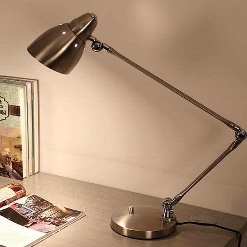 Superior 2019 Creative Long Arm Folding Desk Lamp Business Office Study Work Desk  Lamp Bedroom Reading Room Modern Eyeshield Led Table Lights Bed Light From  ...