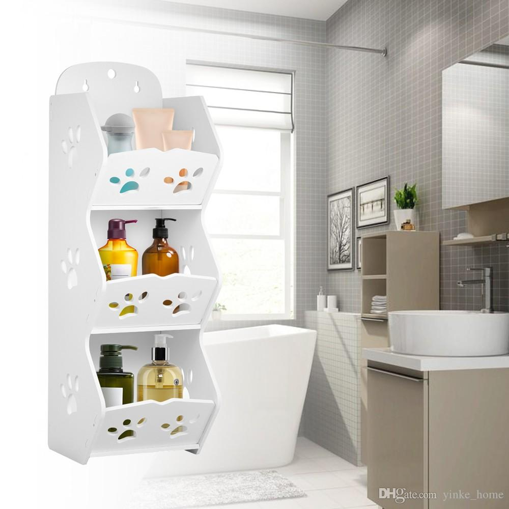 Wall Mounted Bathroom Corner Storage Shelf Sucker Suction Cup Plastic  Shower Basket Organizer Washroom Wall Hanging Rack Shower Soap Holder  Bathroom Corner ...