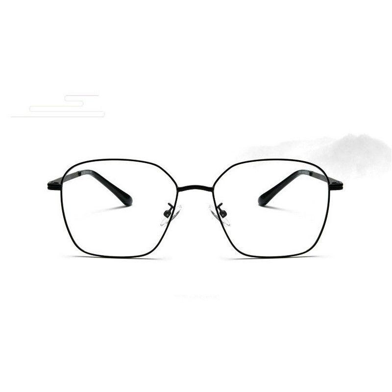 7f646ae635ebd Compre Retro Caixa De Metal Homens E Mulheres Espelho Plano Negócio  Decorativo Óculos Frame New Óculos Caso JW De Junemay
