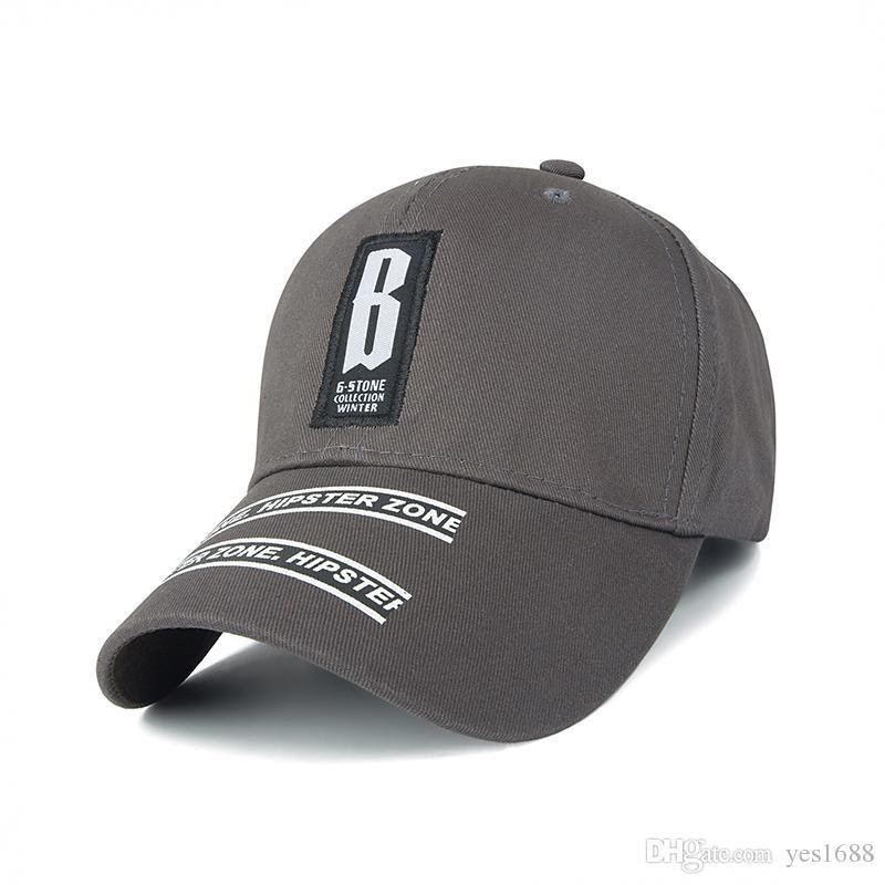 d538aa6cd97b 2018 Venta caliente Casquillo de la bola Gris Azul Rosa Negro Unisex Moda  Nueva marca Gorra de béisbol para hombre Bone Snapback Hat para mujer Golf  ...