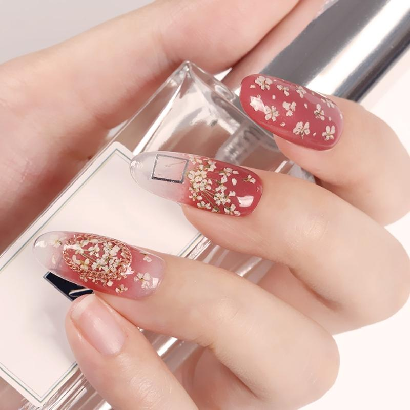 3D Nail Art Decoration Real Dry Dried Flower For UV Gel Acrylic Nail Polish  Pens Rhinestone Nail Art From Offbeige, $35.13| DHgate.Com - 3D Nail Art Decoration Real Dry Dried Flower For UV Gel Acrylic Nail