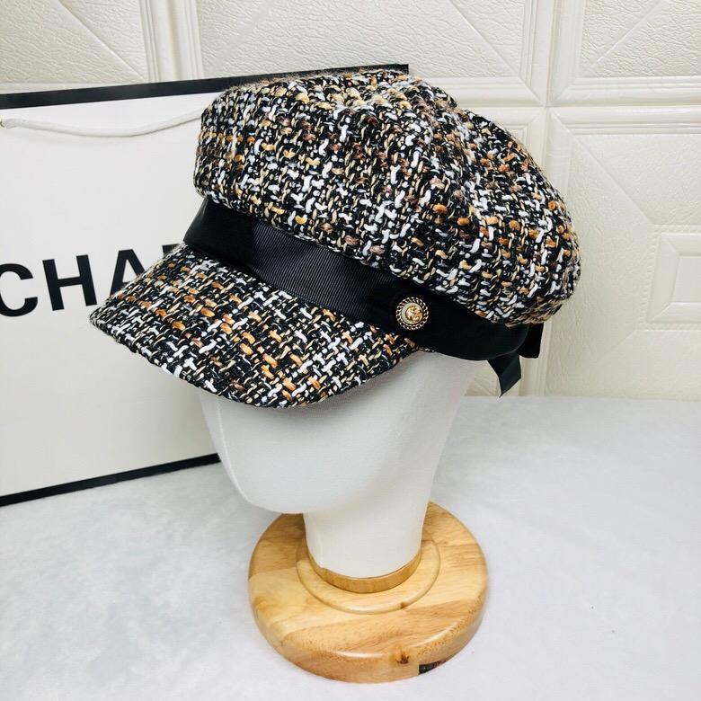 38dd84073 Top Quality Celebrity design Letter Berets Cap Men Woman Canvas baseball  cap Cloches Stingy Brim Hats Visors 426887 4HB12 2160 016 With Box