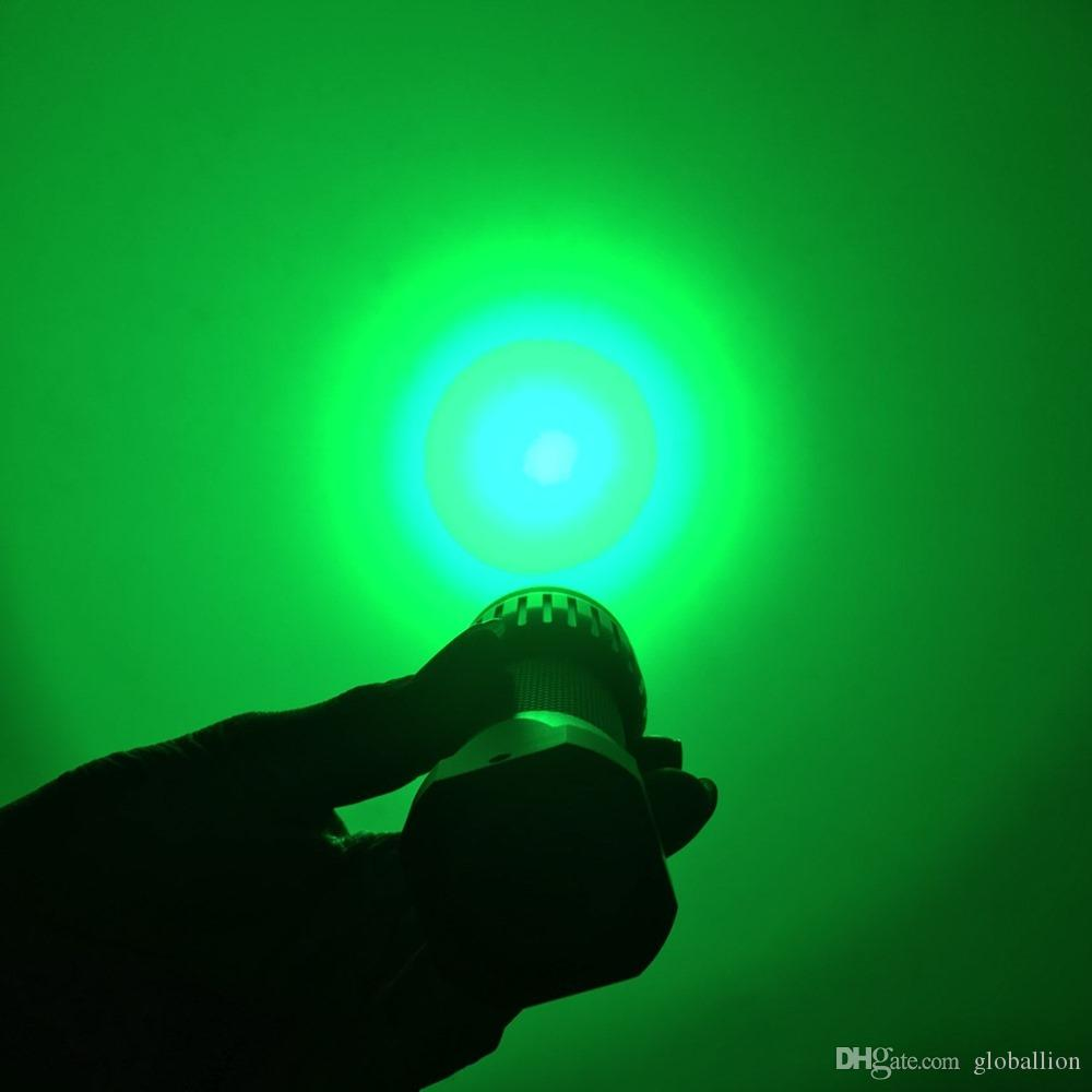 AloneFire X500 Green light led Flashlight 3 Modes Tactical Hunting Torch