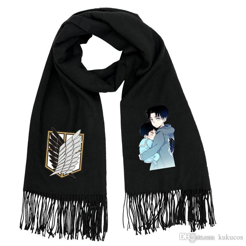 Kukucos Attack On Titan Giant Soldier Mikado Students Warm Winter Scarves Cosplay Gift For Fans