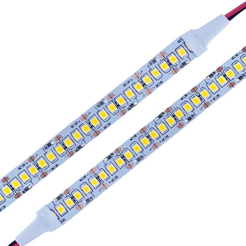 new arrival 12db6 46f4a SMD 2835 LED Flexible strip Light 5M 1200 LEDs 12V LED Backlight Strip LED  tape 240 LED/m White/Warm White