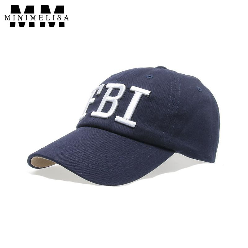2018 New Fbi Embroidered 100 %Cotton Baseball Cap Unisex Hip Hop Hat  Adjustable Men  S Hat Outdoor Sun Hat High Quality Ny Caps Ball Cap From  Dhcomcn 2b2a89eca85