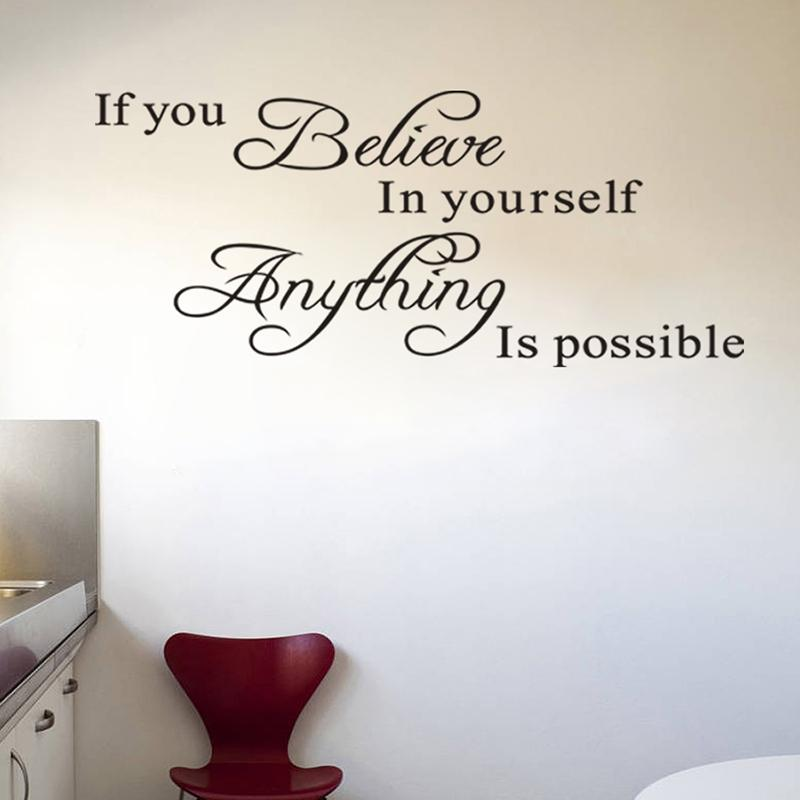 If You Believe In Yourself Anything Is Possible Inspirational Quotes