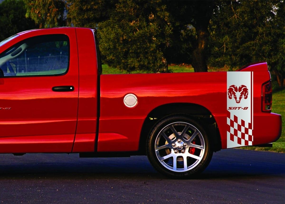 2019 For 2 Truck Vinyl Sticker Decals Bed Stripes Dodge