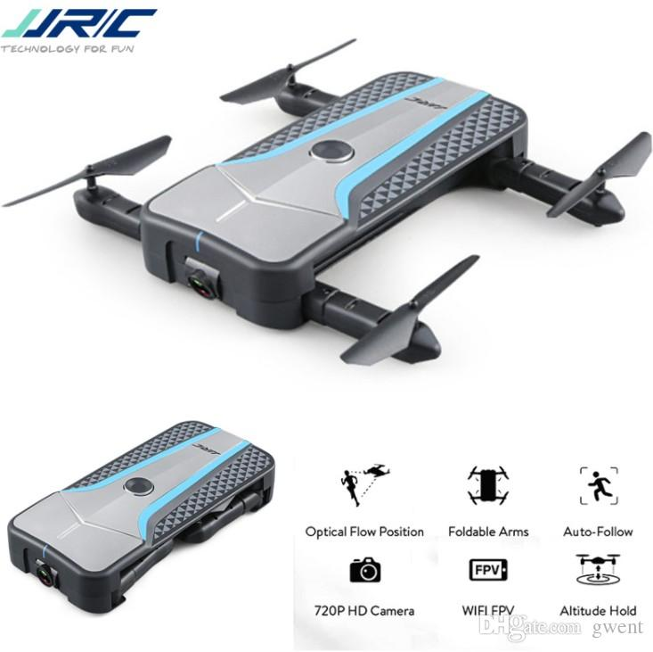 2018 NEW JJRC H62 SPLENDOR Foldable Arm WIFI FPV Selfie RC Drone With 720P  Camera Optical Flow Positioning RC Quadcopter