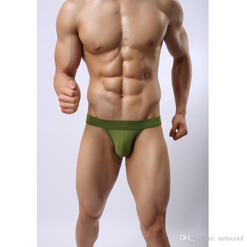 Fashion Brand Underwear Man Underpants Sexy Underwear Jockstrap Thongs Underwear Men Backless Thong Tanga Exotic Panties Mix Colors