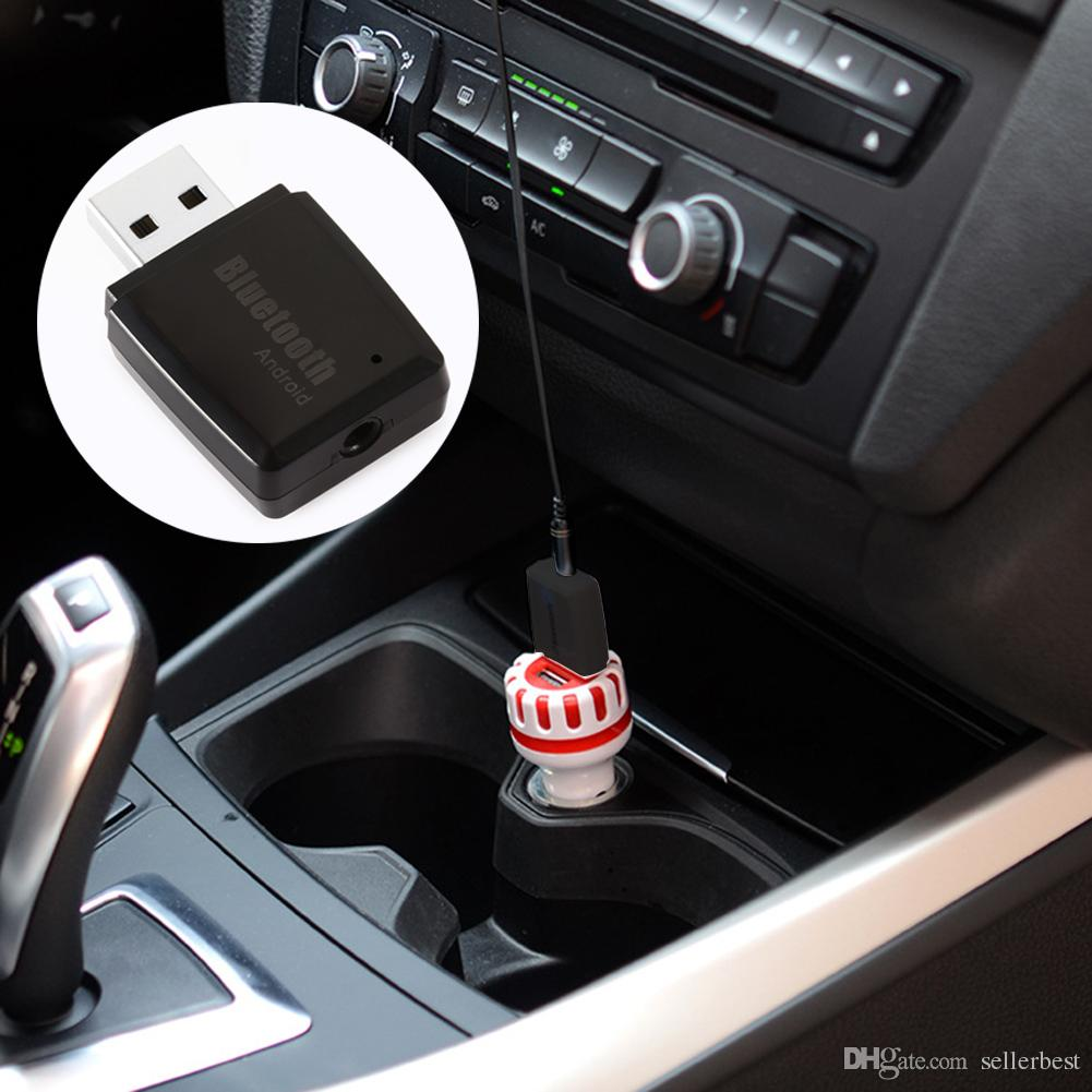 Mini 3,5 mm AUX Wireless Bluetooth Car Kit USB Stereo Musik Audio Receiver Adapter für PC Android für IOS System